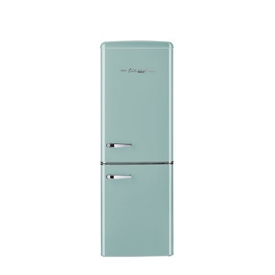 Unique Classic Retro Bottom Freezer Refrigerator