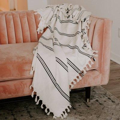 Taylor Turkish Throw Blanket