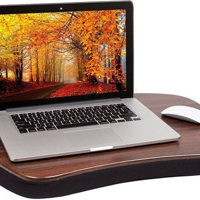 Sofia + Sam Oversized Memory Foam Lap Desk for Laptops