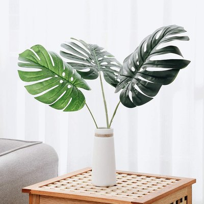 Olivachel Artificial Monstera Leaves