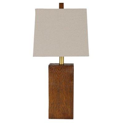 Garrick Wood Finish Table Lamp