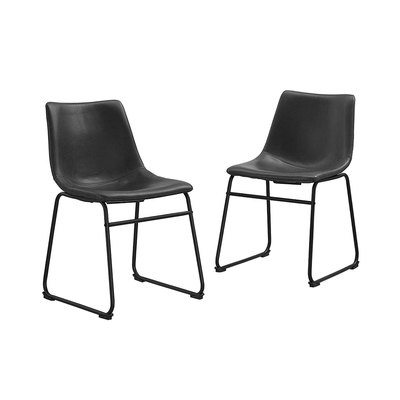 WE Furniture Industrial Dining Chairs
