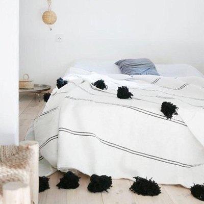 Moroccan Pom-Pom Blanket