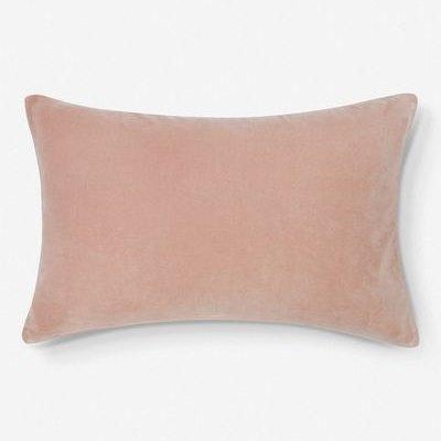 Charlotte Velvet Lumbar Pillow