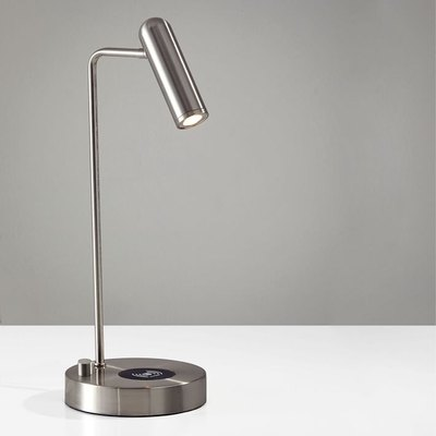 Linear Metal LED Charging Table Lamp