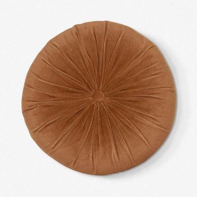 Monroe Velvet Round Pillow