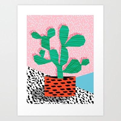 'Cool Hang' Art Print