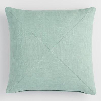 Jadeite Cotton Throw Pillow
