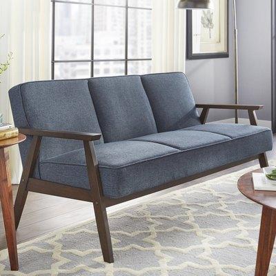 Berthiaume 62.5'' Flared Arm Sofa