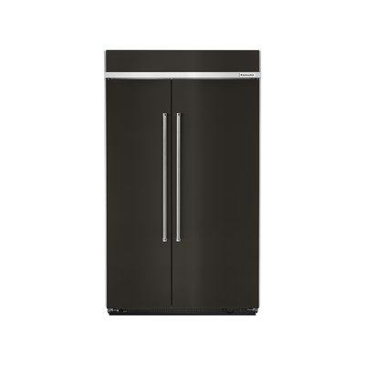 KitchenAid Side by Side Refrigerator with PrintShield Finish