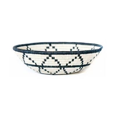Large Black + White Thousand Hills Basket