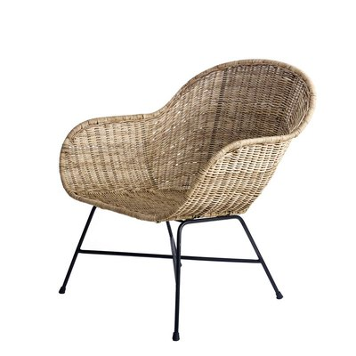 Ormond Natural Rattan Lounge Chair