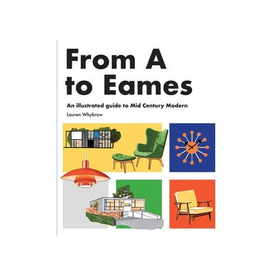 This sophisticated A to Z picture book for adults is an illustrated journey through midcentury modern design, perfect for any reader with a keen eye for style.