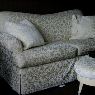 How to Sew a Slip Cover for a Sofa