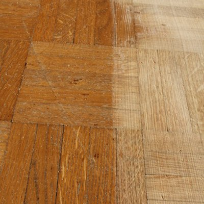How to Refinish a Parkay Floor