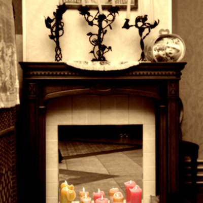 How to Tile Over a Marble Fireplace