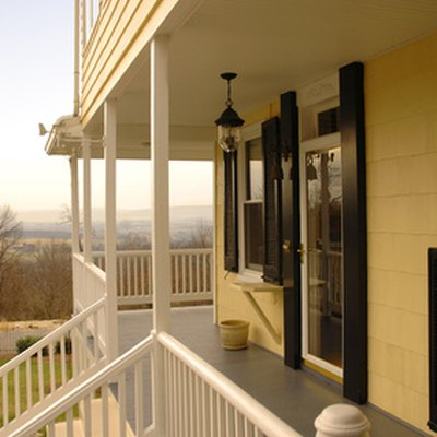 How to Attach a Railing to Vinyl Siding