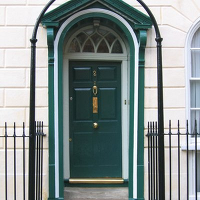 How to Widen a Frame for an Exterior Door