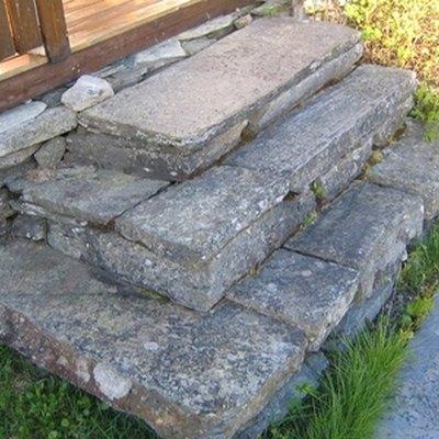 How to Make Stone Porch Steps