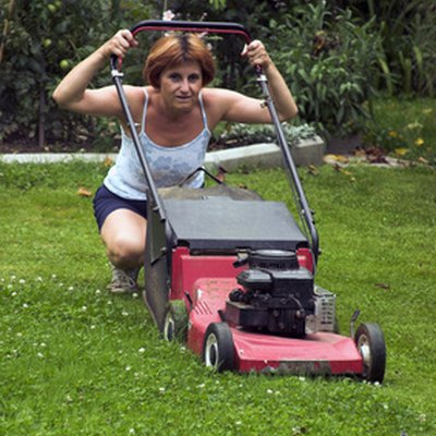 How to Fix a Stuck Lawn Mower Engine