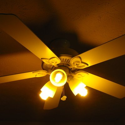 How to Hush a Ceiling Fan Hum When Running at a Slow Speed
