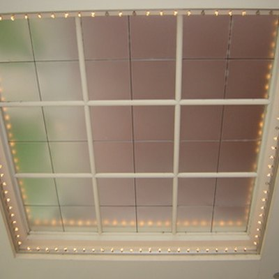 How to Put a Grid in a Window Pane