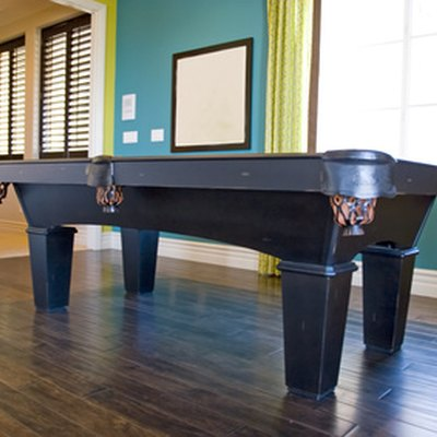 How Do I Disassemble a Valley Pool Table?