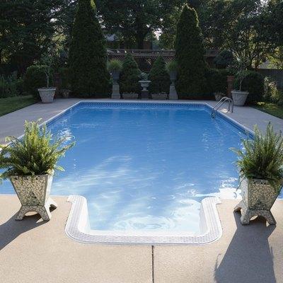 Peaceful swimming pool