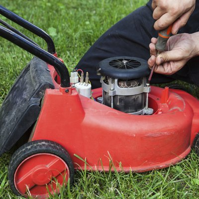 Why Does My Lawn Mower Blow Out Black Smoke & Now Doesn't Start?