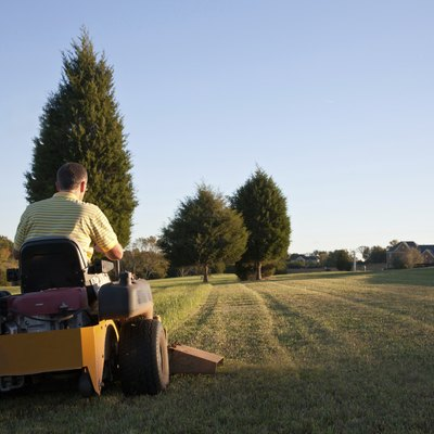 How to Find the Value of a Riding Lawn Mower