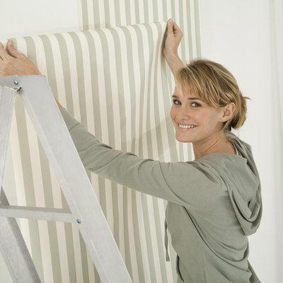 How to Put Wallpaper on Formica