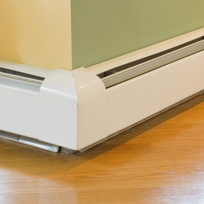 Painting Rusted Baseboard Heaters