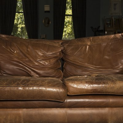 How to Repair Minor Scratches on Bonded Leather Couches