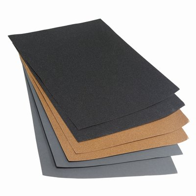 Close up of sandpaper