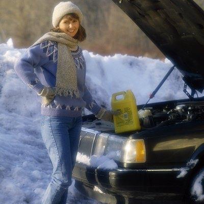 Does Antifreeze Stain Driveways?