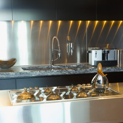 How to Get Burn Marks Out of a Stainless Steel Stove