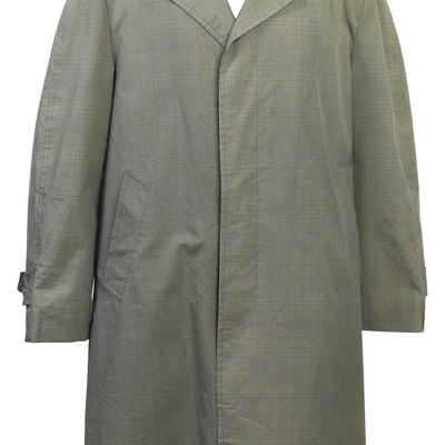 How to Get a Stain Out of a Trench Coat