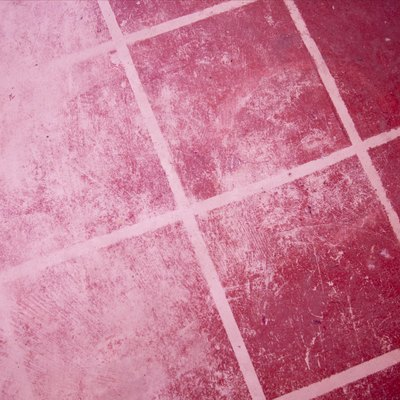 How to Remove Orange Soap Scum From Grout