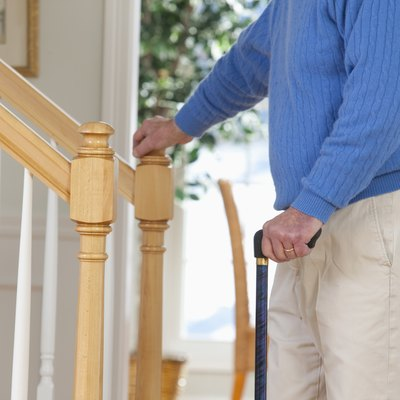 Gadgets to Help the Elderly Climb Stairs
