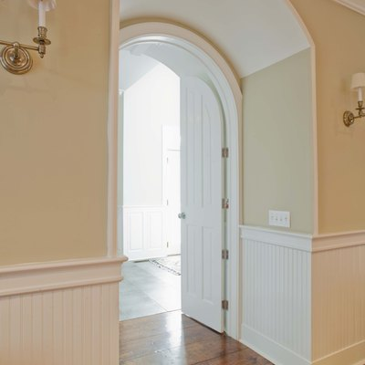 How to Install a Door in an Archway