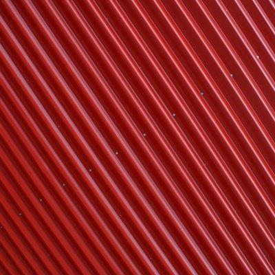 DIY Corrugated Iron Fence
