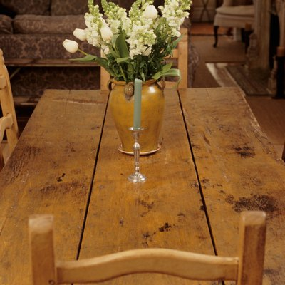 How to Make a Plank-Style Dining Table
