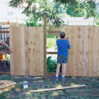 How to Install Extended Posts on a Wood Fence