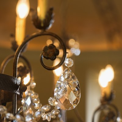 How to Install a Chandelier on a Drop Ceiling