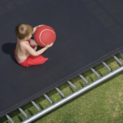 How to Fix a Bent Trampoline