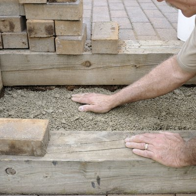 Easy Way to Grout My Patio Pavers