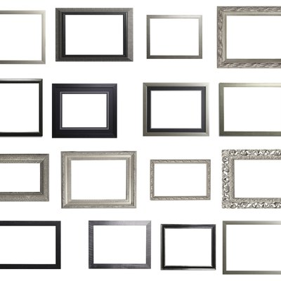 Silver and Black Landscape Frame Multiple Selection