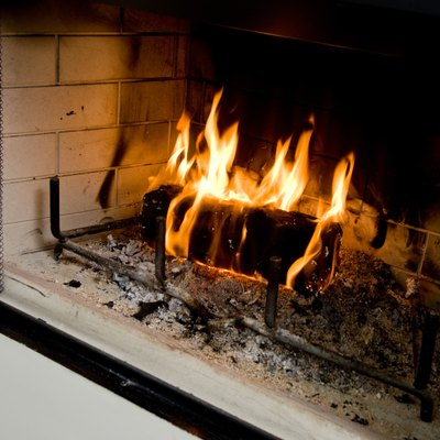 How to Paint Over a Granite Fireplace