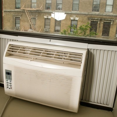 Homemade Air Conditioner Window Brace