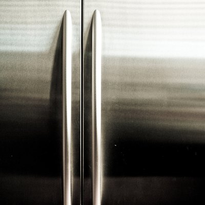 How to Repair Scratches on a Stainless LG Refrigerator
